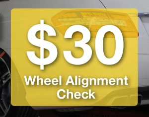 TyreSmart Wheel Alignment Check Promotion